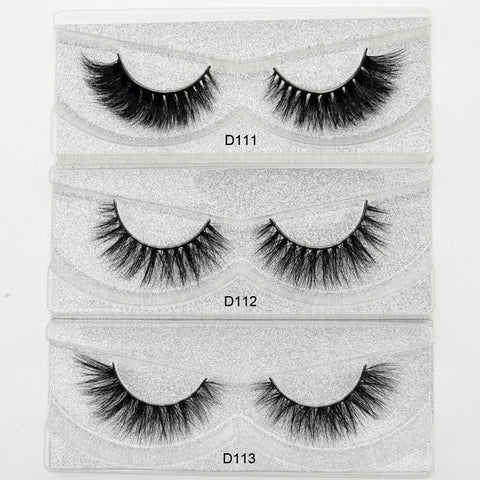 Visofree Mink 3D eyelashes mink thick eyelashes handmade full strip False eyelashes