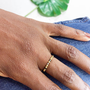 BELIEVE 360° Morse Code Mantra® Ring