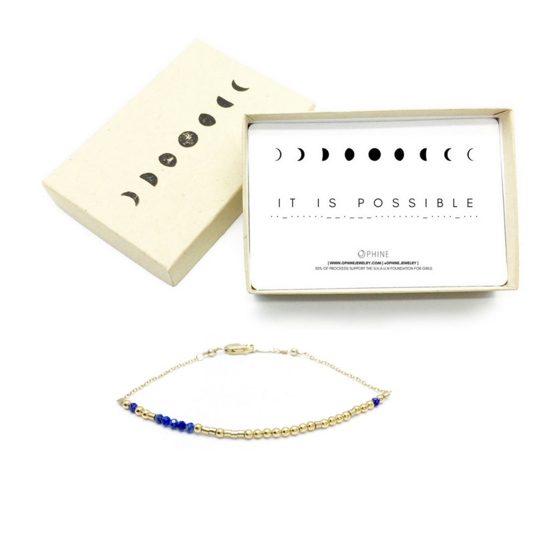 IT IS POSSIBLE Morse Code Mantra® Bracelet