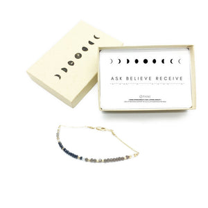 ASK BELIEVE RECEIVE Morse Code Mantra® Bracelet