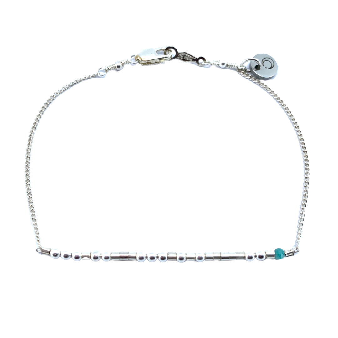 I LOVE YOU Morse Code Mantra® Bracelet