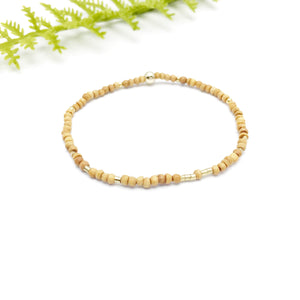 IT IS POSSIBLE Unisex Sandalwood Morse Code Mantra® Bracelet