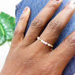 LOVE 360° Morse Code Mantra® Ring