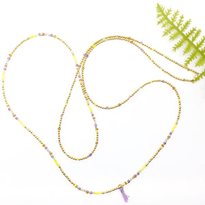 ALL IS WELL Triple-Wear Morse Code Mala® Necklace