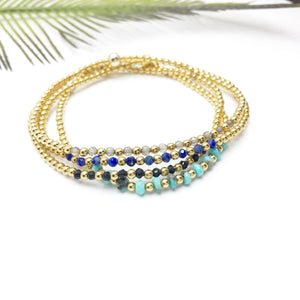 GEMOLOGY Beaded Bracelet