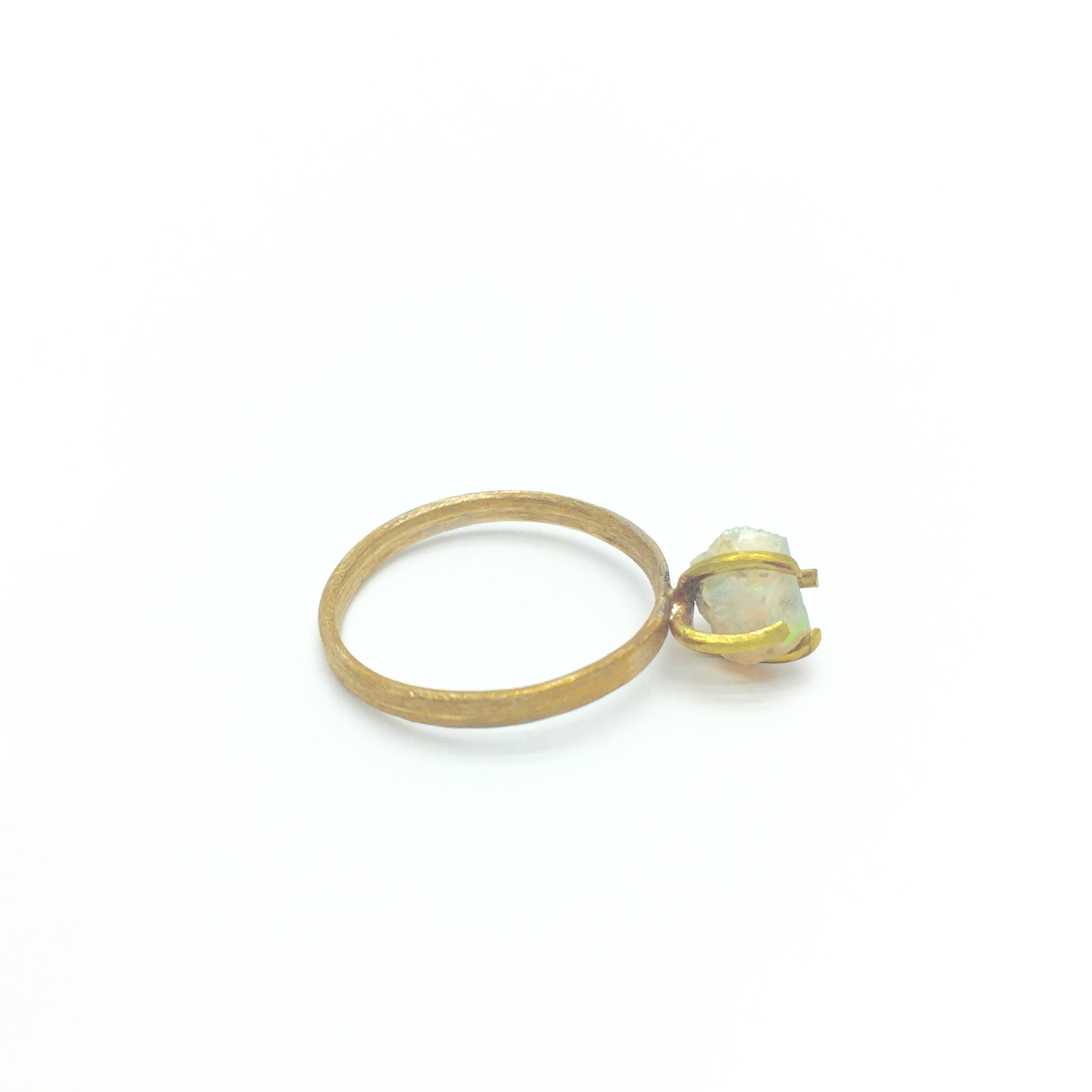 OPULENCE Raw Opal Ring