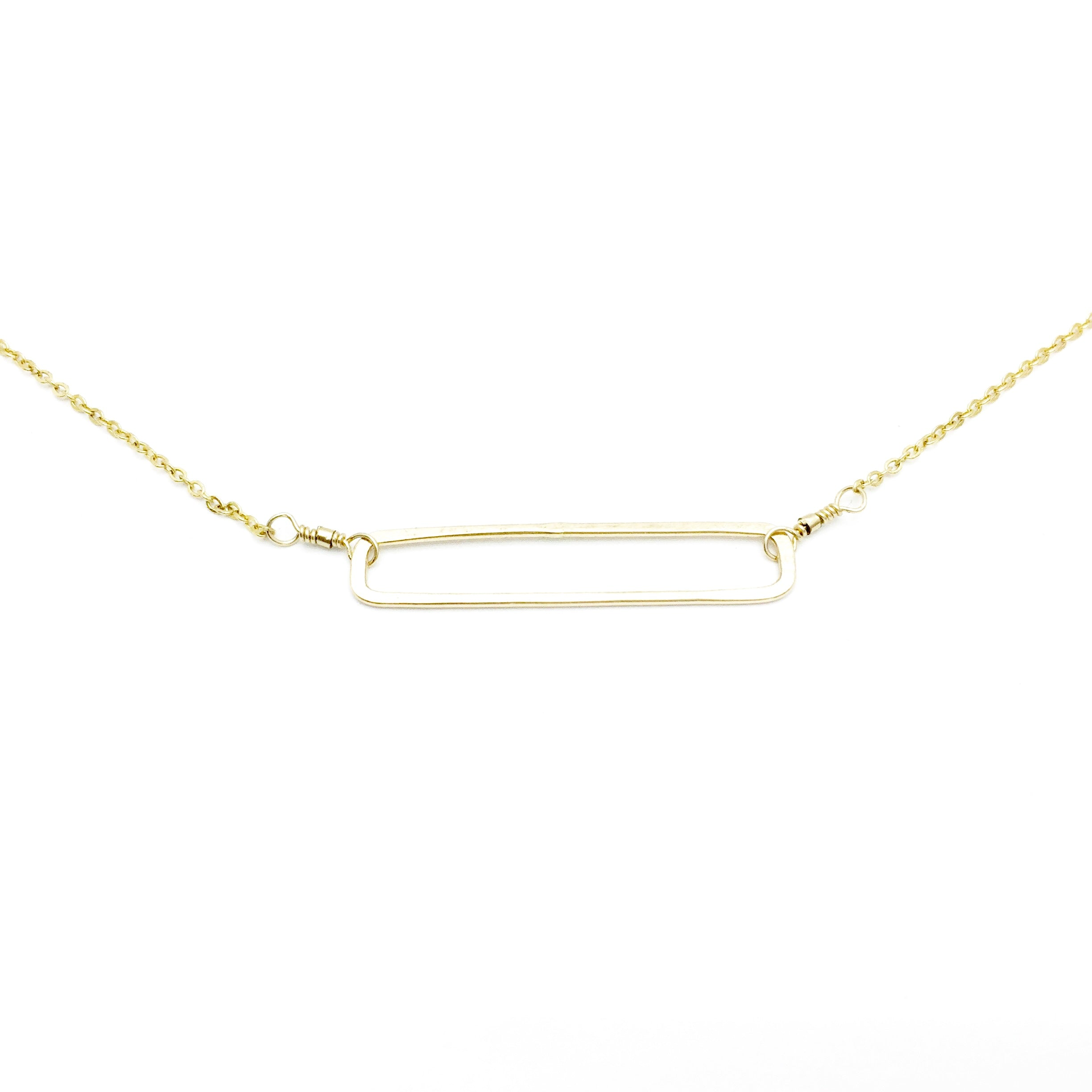 RECTANGLE Bar Necklace