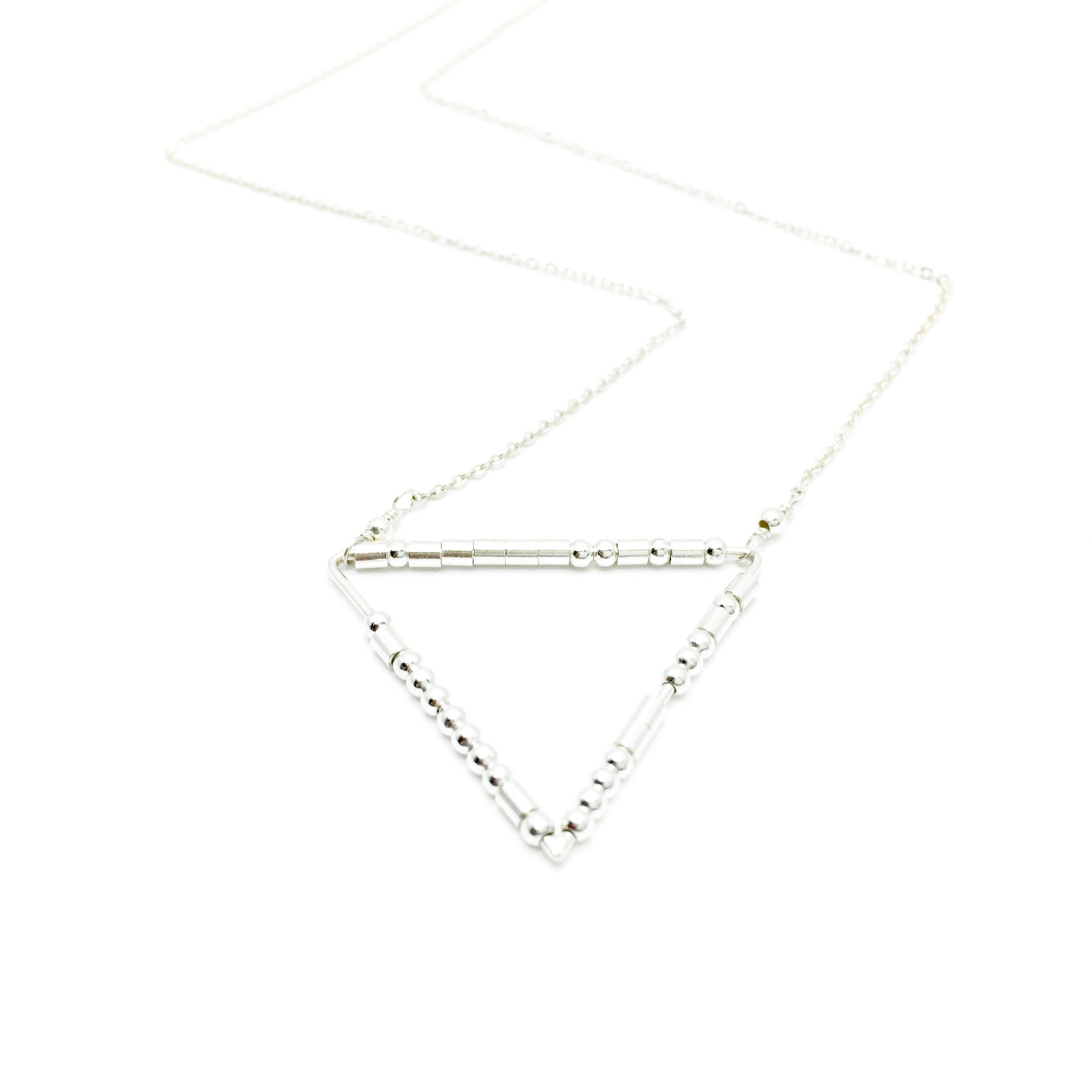 LIVE YOUR TRUTH Morse Code Mantra® Necklace