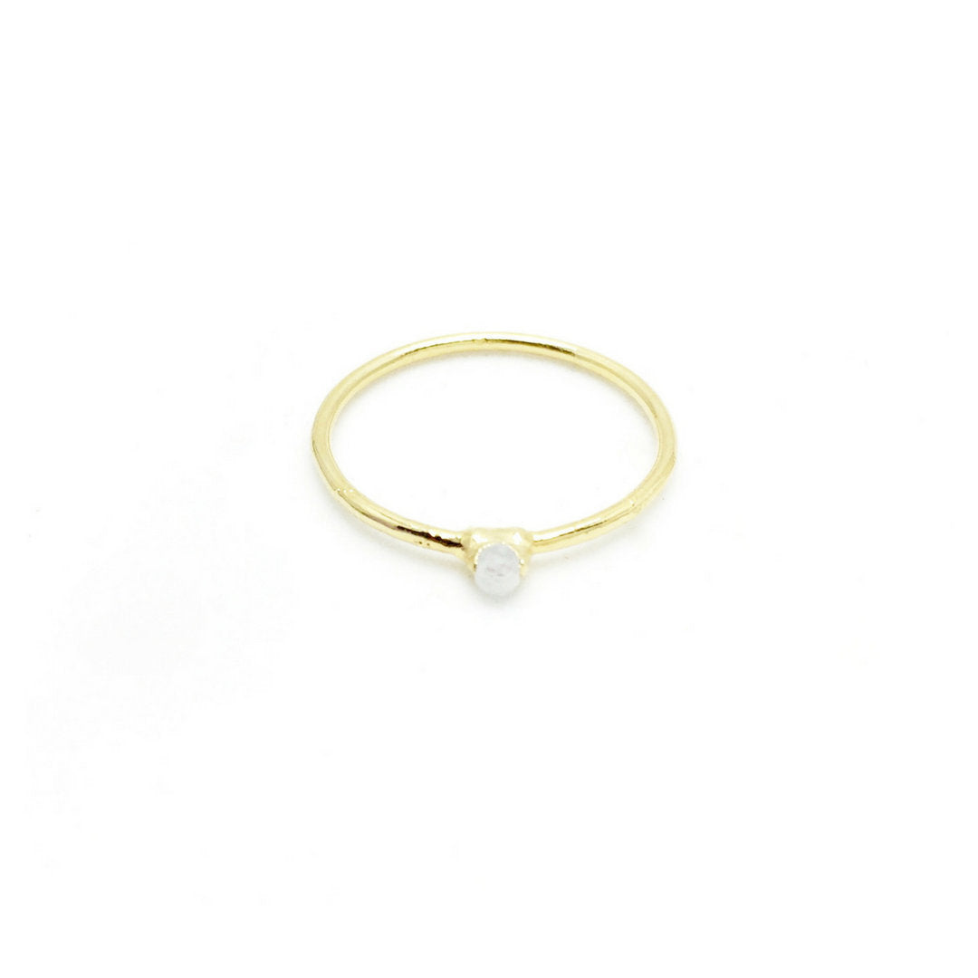 MOONSTONE BIRTHSTONE Ring