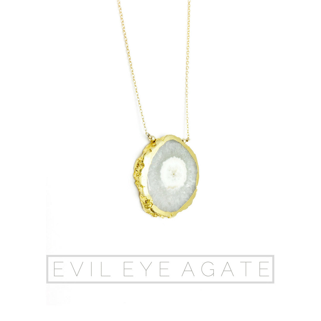 EVIL EYE Agate Necklace: ALCHEMYå¨ collection