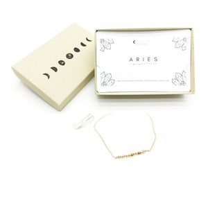 ARIES Morse Code Necklace