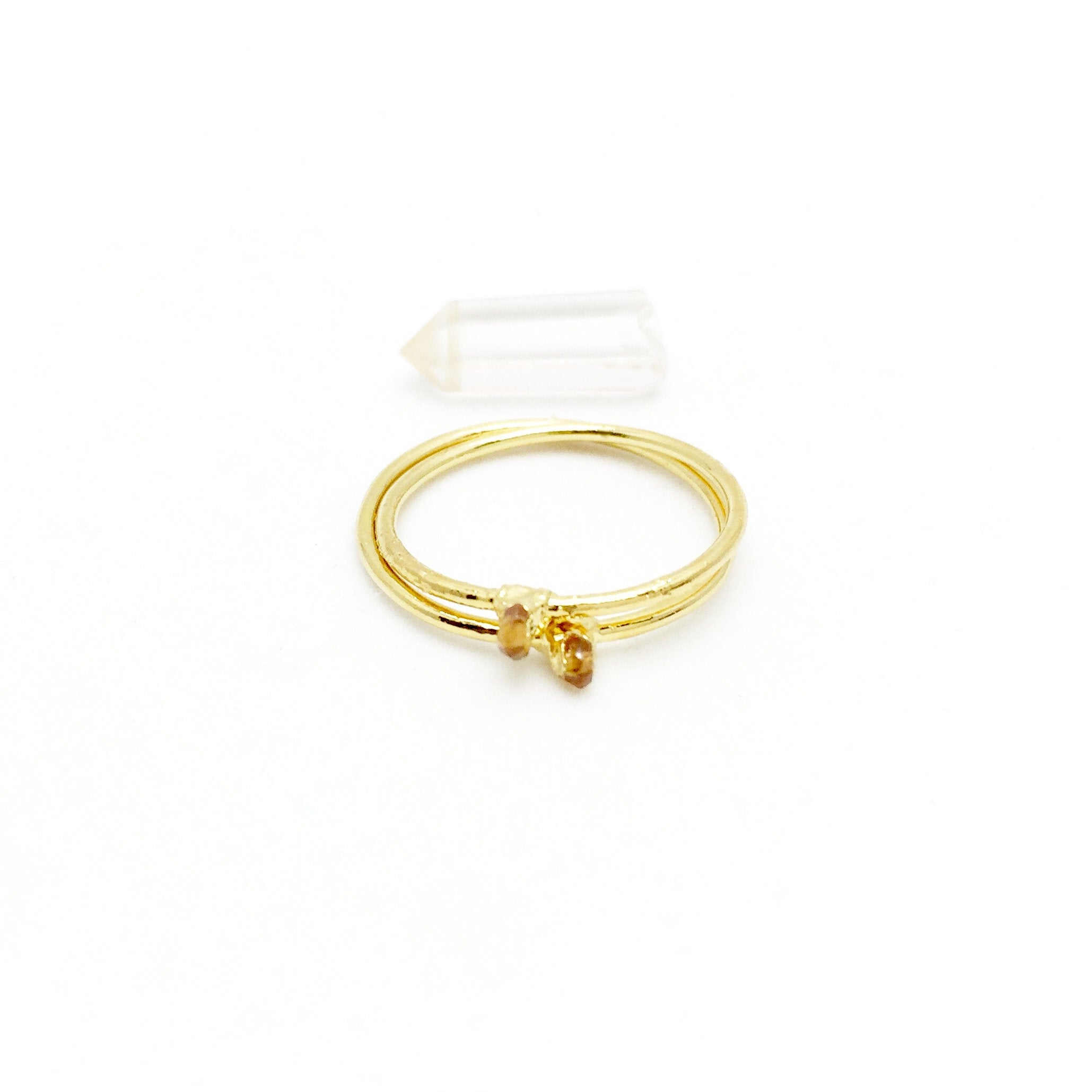 CITRINE BIRTHSTONE Ring