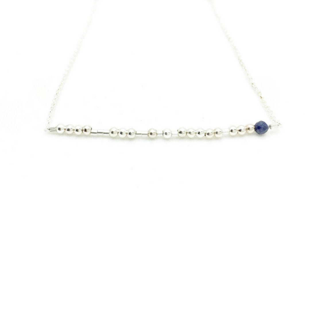 SAGITTARIUS Morse Code Necklace