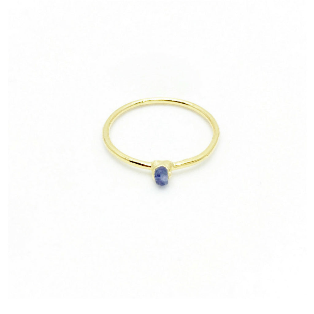 TANZANITE BIRTHSTONE Ring