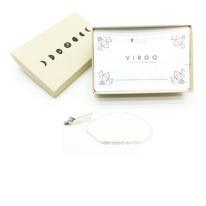 VIRGO Morse Code Necklace