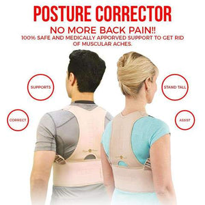 POSTURE CORRECTOR (UNISEX) - NO MORE BAD POSTURE AND BACK PROBLEMS!