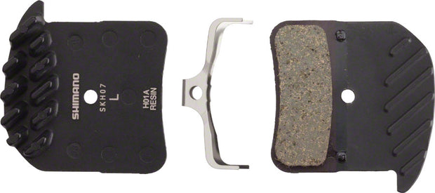 H01A Resin Disc Brake Pads and Spring with Fins