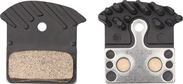 J04C Metal Disc Brake Pads with Fin