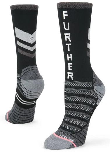 Faster Further Crew Sock