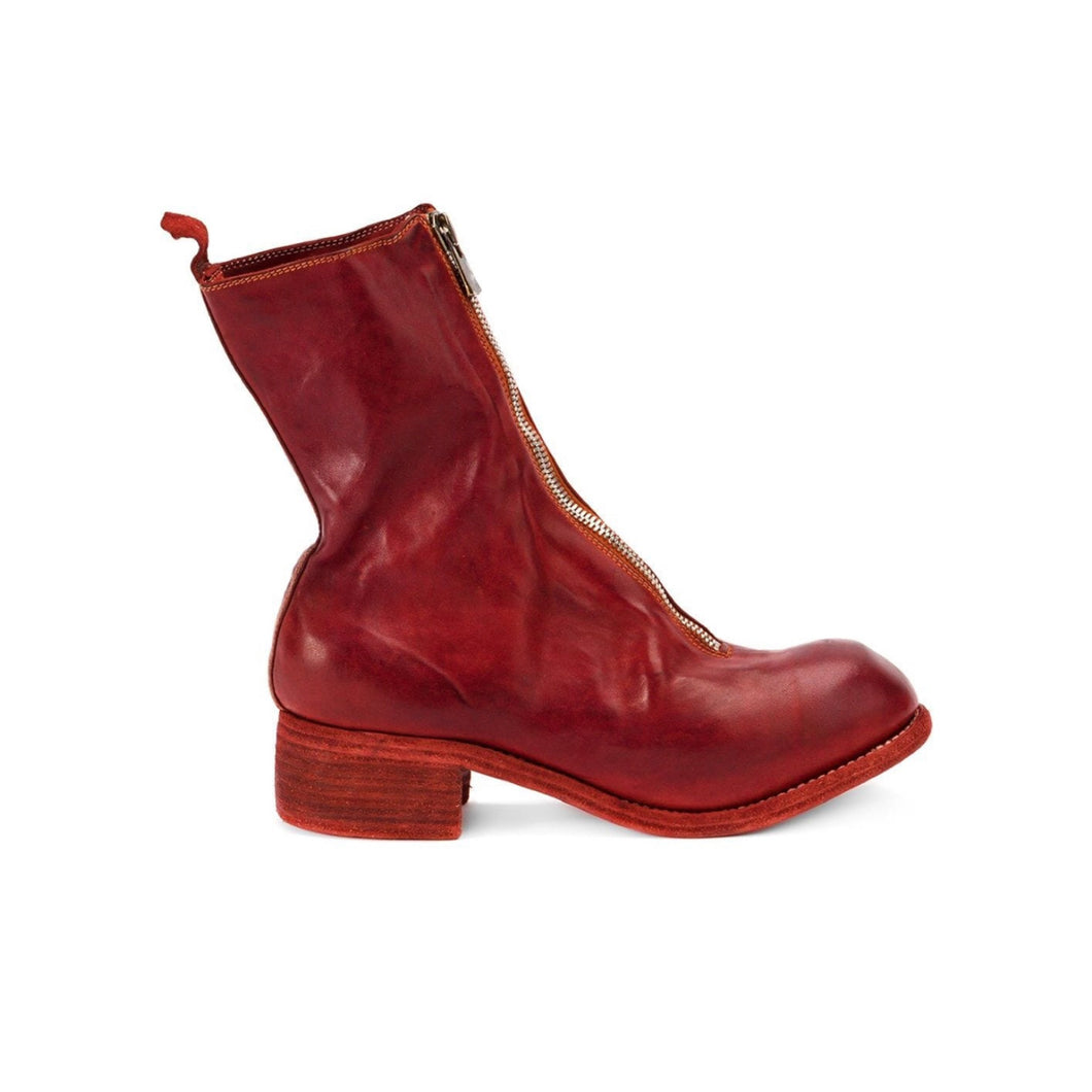 Guidi PL2 RED Horse Leather