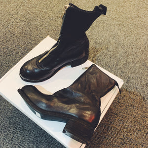 Guidi PL2 BLACK horse leather