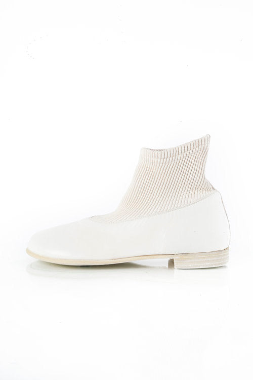 Guidi Sock Boots White Z094S