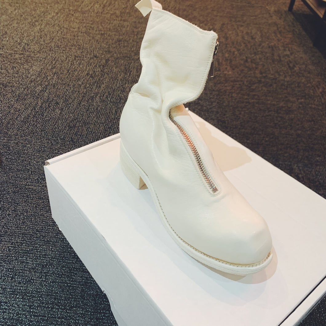 Guidi PL2 WHITE Horse Leather