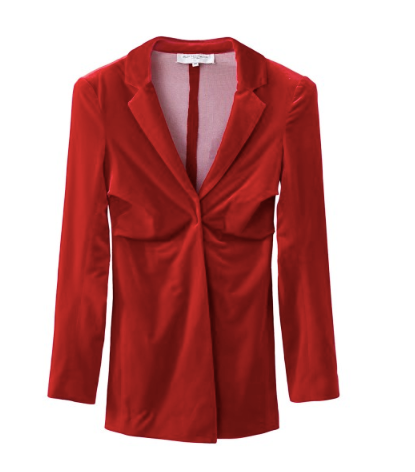 Still Still Studio Dead Serious Blazer Red