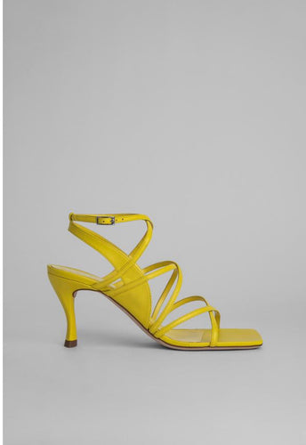 By Far CHRISTINA YELLOW LEATHER