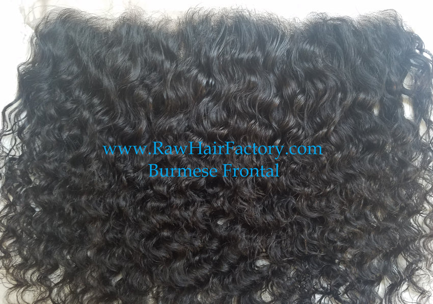 Burmese Curly Frontal 13x4