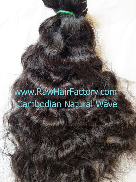 Raw Cambodian Natural Wave Hair