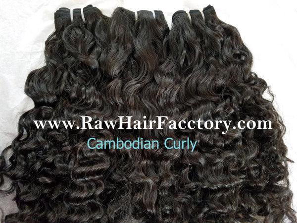 Raw Cambodian Natural Curly Hair