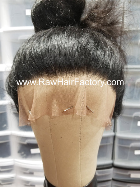 Raw Indian Wavy Full Lace Wig *PLEASE READ*