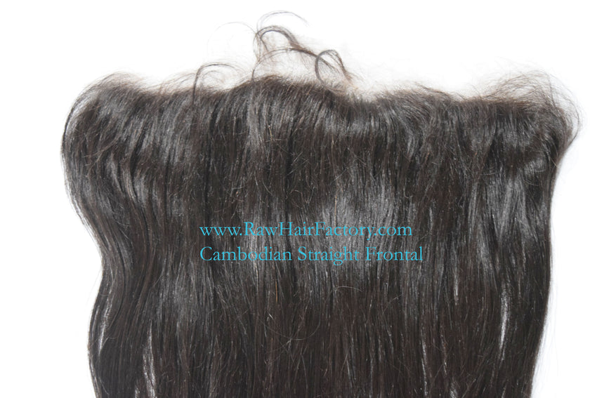 Cambodian Straight Frontal 13x4