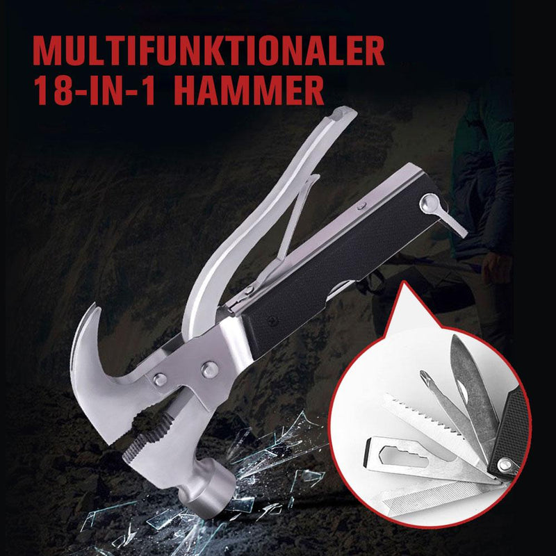 Multifunktionaler 18- in- 1 Hammer