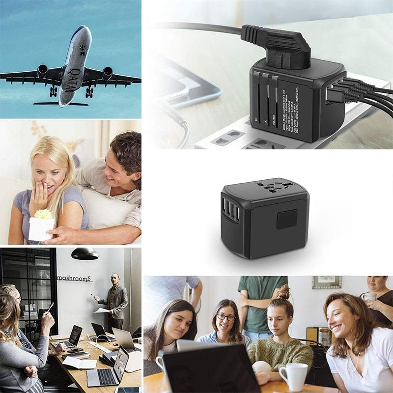 All-in-One 4 USB Universal Power Reiseadapter