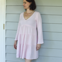 Load image into Gallery viewer, Belle linen breastfeeding dress