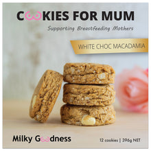 Load image into Gallery viewer, White Choc Macadamia lactation cookie packet