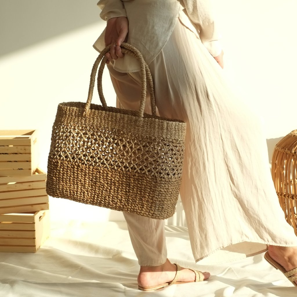 Helena Picnic Bag - Natural