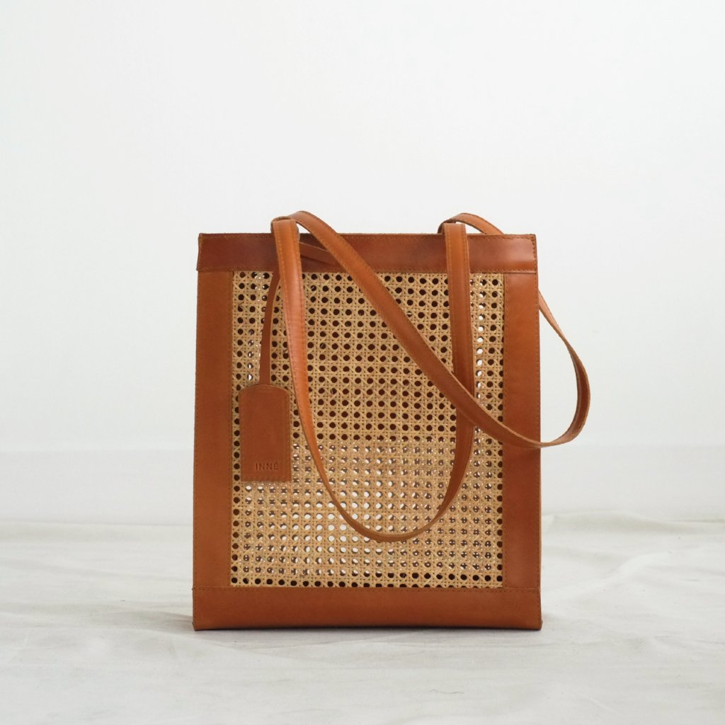 Sia Shopper Tote - Tan