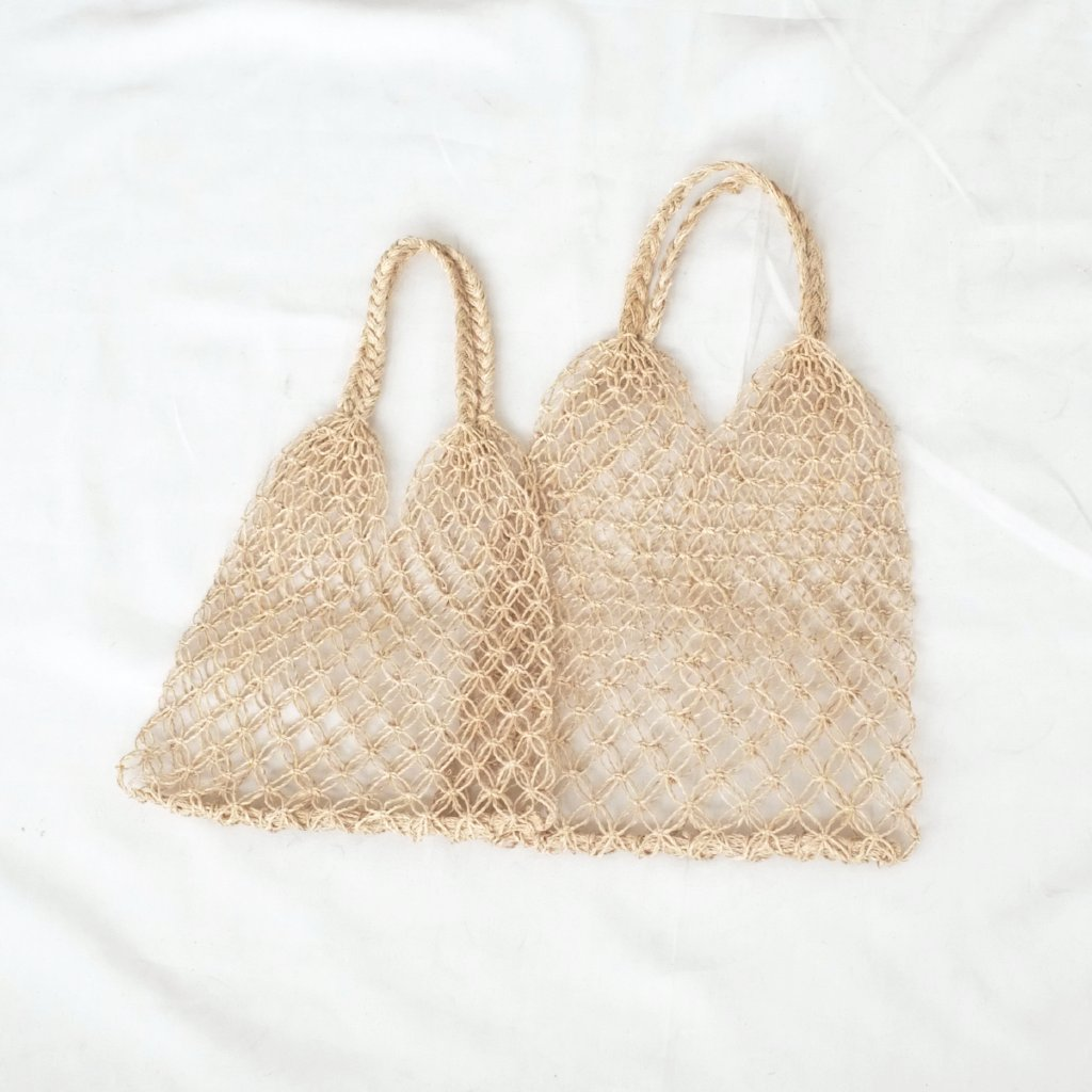 Natalia Macrame Bag - Natural