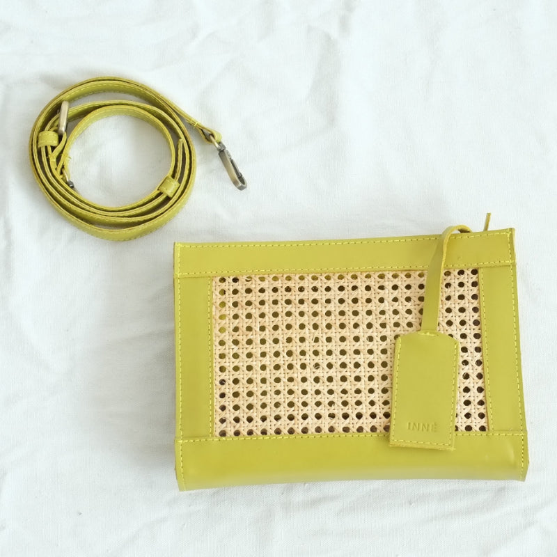 Sia Clutch Sling - Avocado