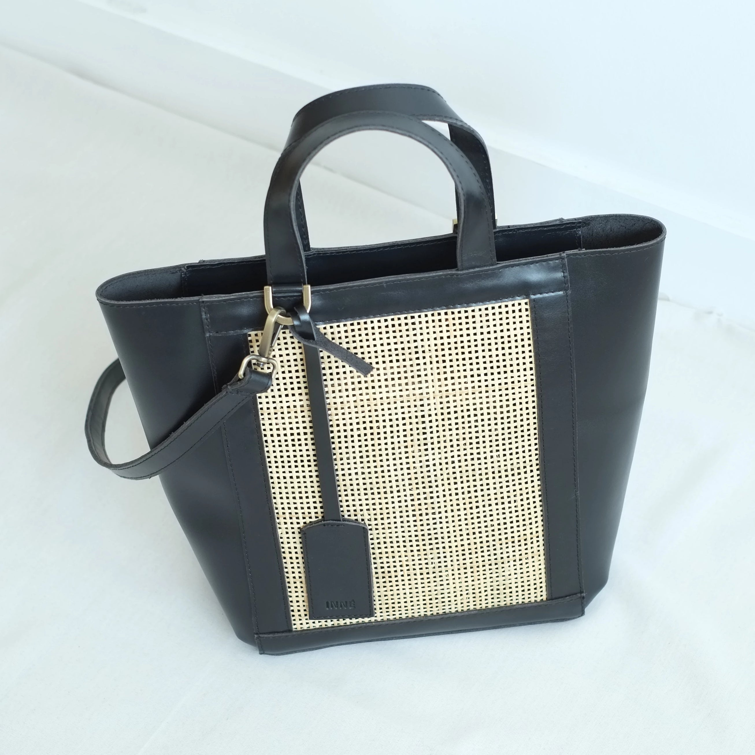 Cruz Winged Tote - Black
