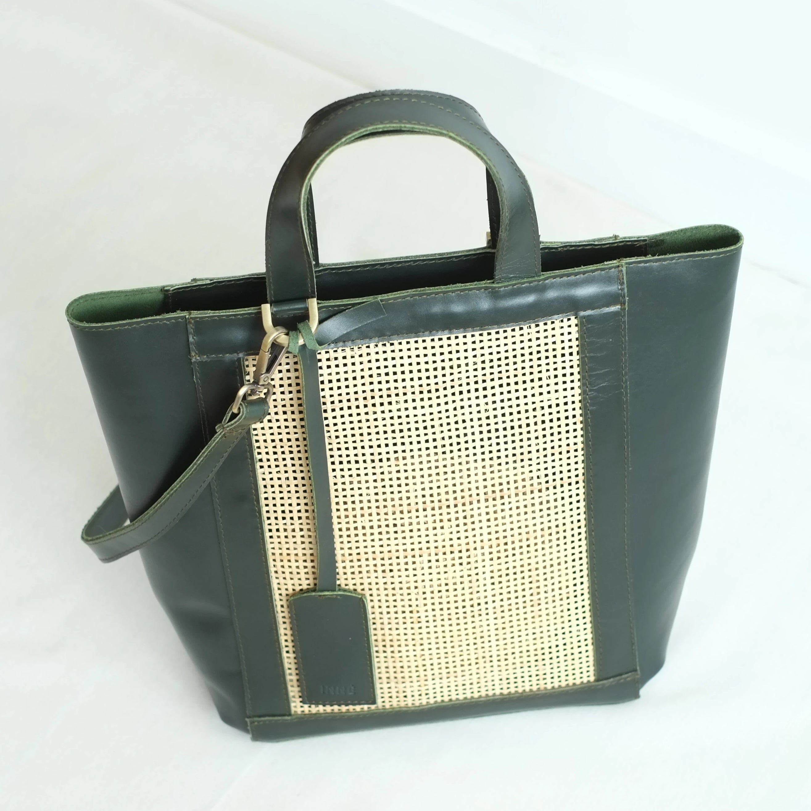 Cruz Winged Tote - Forest