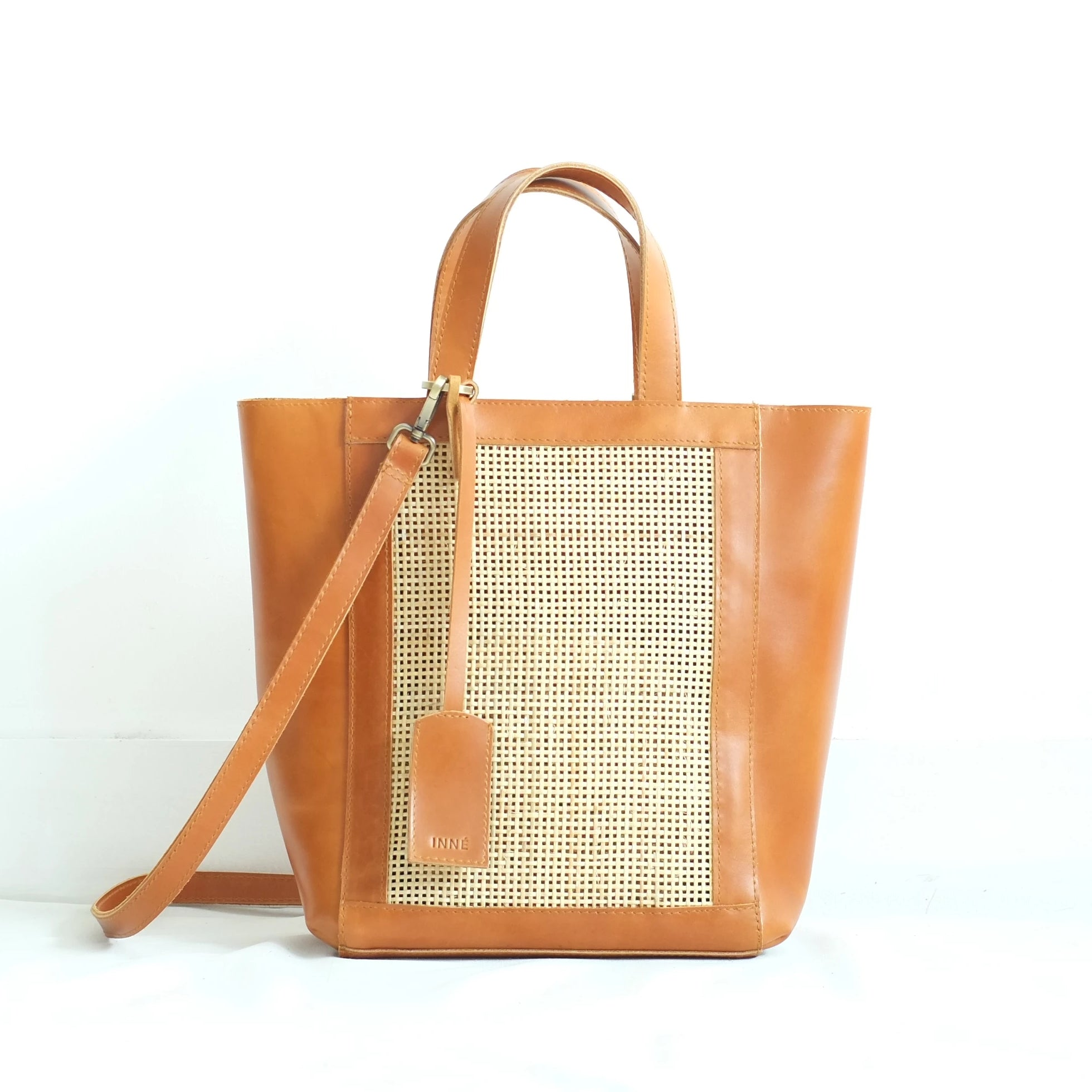 Cruz Winged Tote - Tan