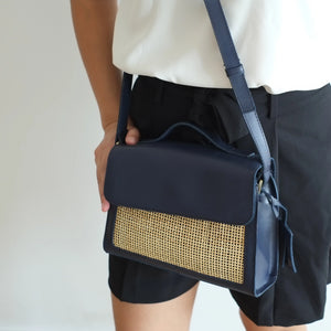 Cruz Satchel Sling - Midnight
