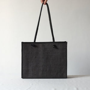 Noa Everyday Tote - All Black