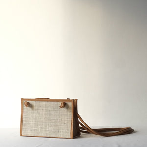 Noa Crossbody Sling - Natural / Tan