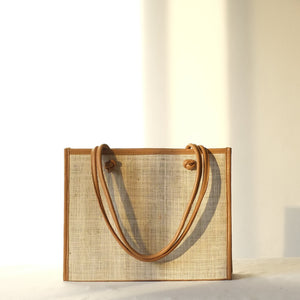 Noa Everyday Tote - Natural / Tan