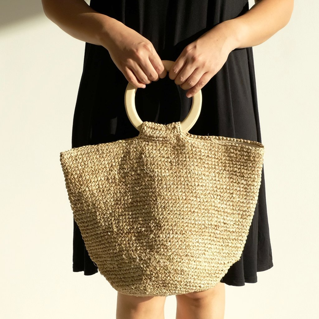 Cora Tote Bag - Natural